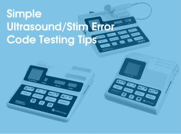 Simple Ultrasound Error Code Testing Tips